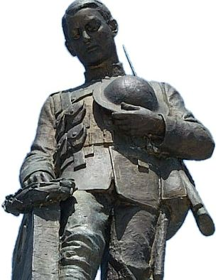 North Bay War Memorial Statue